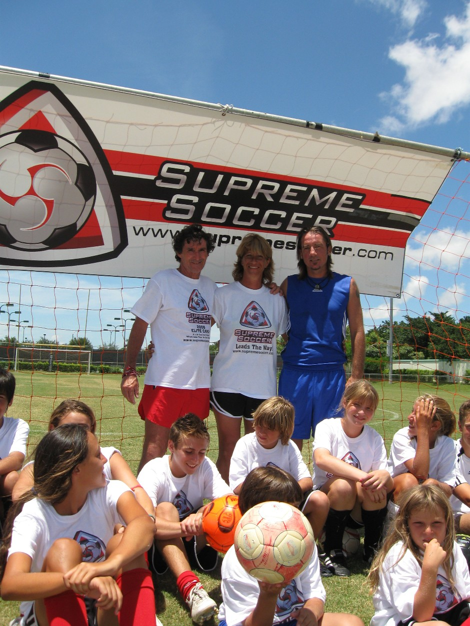 Supreme Soccer's Invitational Camp for Elite Soccer Players kicks off at American Heritage School