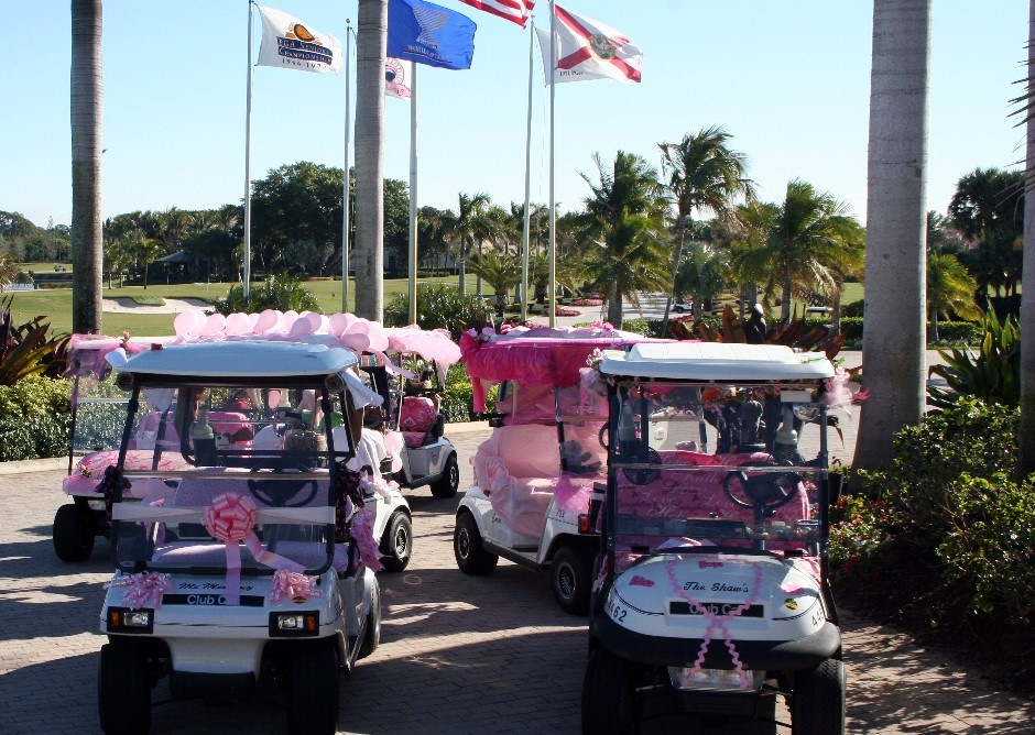 Play for P.I.N.K. tees off at BallenIsles Country Club