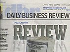 click to read Daily Business Review article