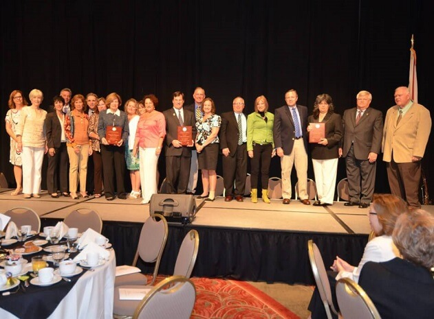 BallenIsles Community Volunteers Honored with GOLD Award from Palm Beach County School District