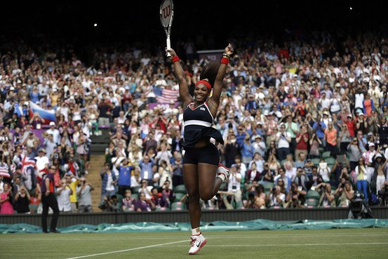 Serena Williams Olympic Gold Shines on BallenIsles Country Club