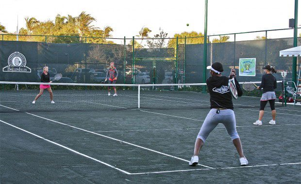 Two Fastest Serves in Women's Tennis face off at BallenIsles
