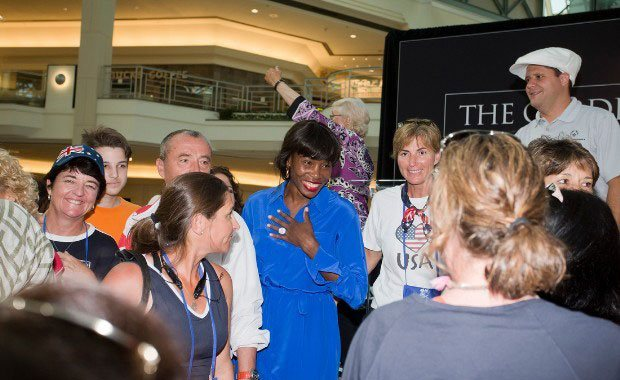 Venus Williams makes surprise guest appearance
