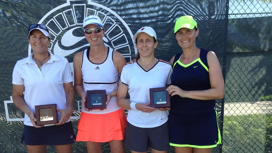 USTA 40 Finalists and Winners at BallenIsles