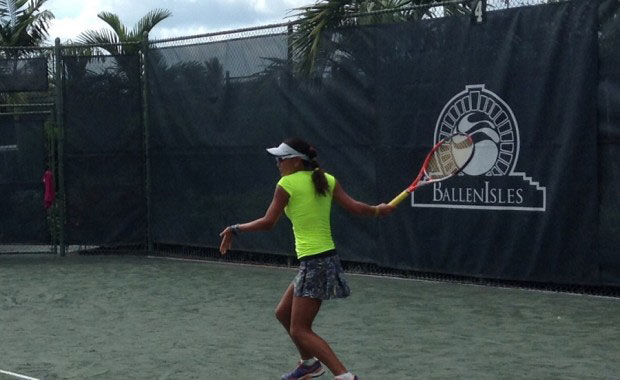 CBS News 12 reports on tennis event at BallenIsles Country Club