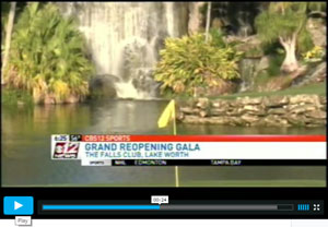 WPEC TV at the Falls Club of the Palm Beaches Jan 19