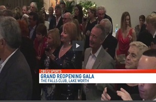 WPEC TV at the Falls Club of the Palm Beaches Grand Reopening