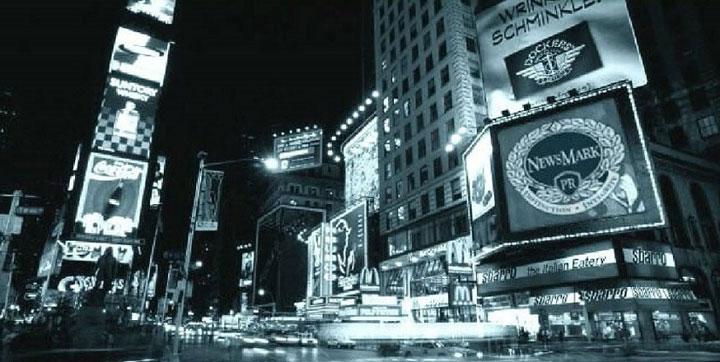 NewsMark Public Relations on New York billboard