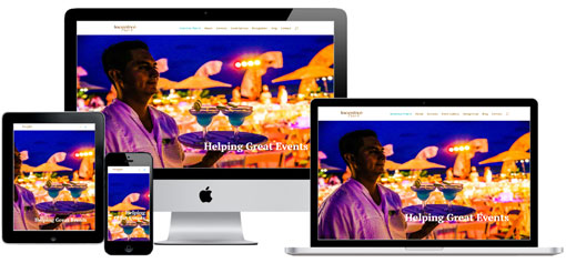 meetings and events website designed by NewsMark PR