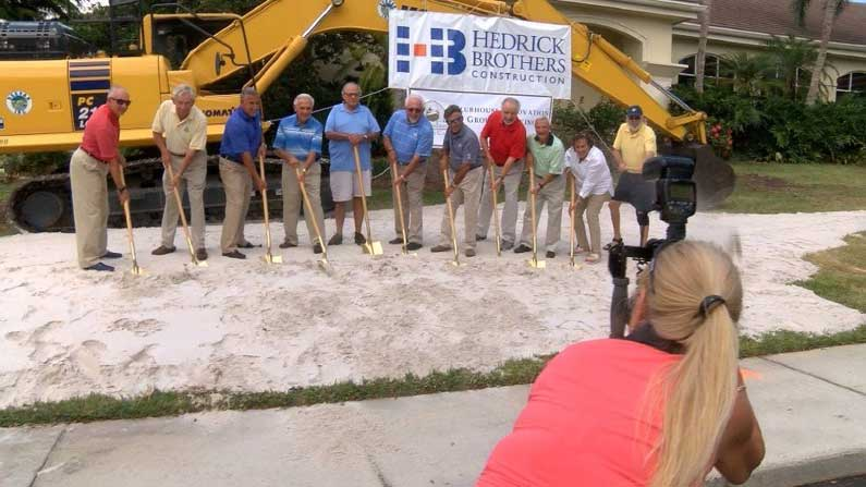 BallenIsles Country Club Groundbreaking